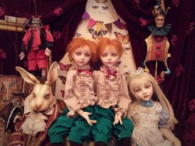 清水真理】球体関節人形をはじめとする人形作家 / 雑貨通販 ヴィレッジ ...