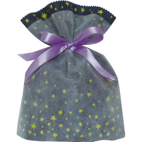 Gift Bag (S) Star Navy