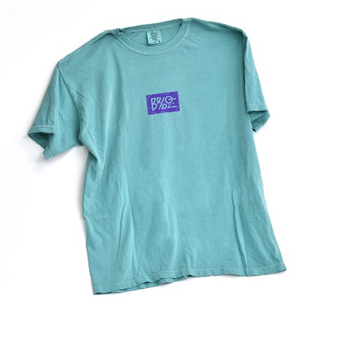 【BRIDGE SHIP HOUSE×VV】Tシャツ (Seafoam) Lサイズ