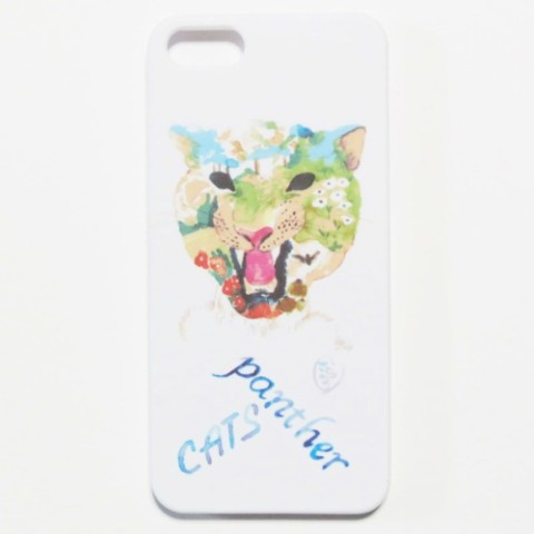 【kanvas】PANTHERCATS WHITE iPhone5&5sケース