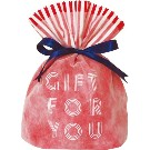 Gift Bag (S) Word Red