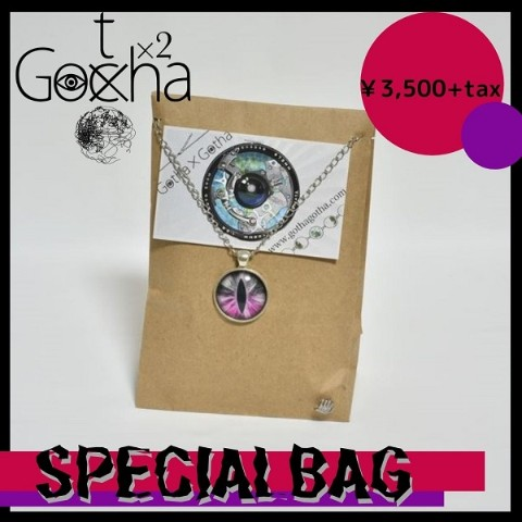 【Gotha×Gotha】SPECIAL BAG(RED)【VV限定】