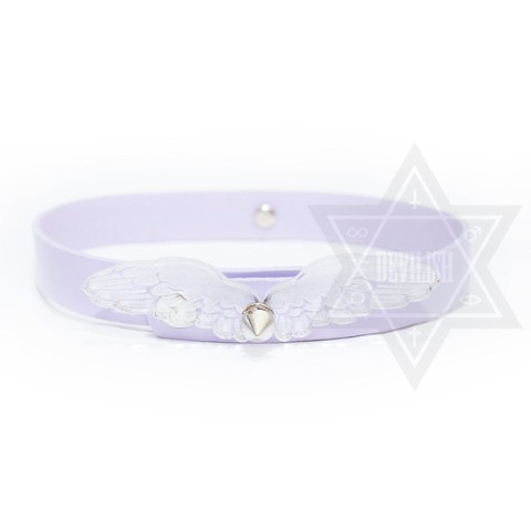 【Devilish】Fallen angel Choker(Purple)