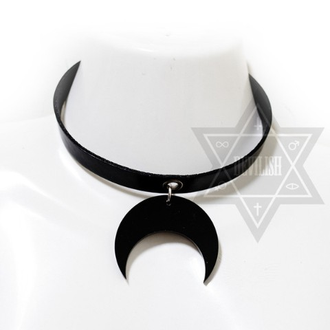 【Devilish】Darkened moon Choker