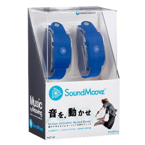 SoundMoovz ネイビー<ダンス連動型ガジェット>