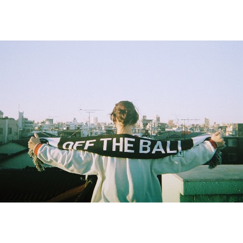 【OFF THE BALL】OFF THE BALL SCARF