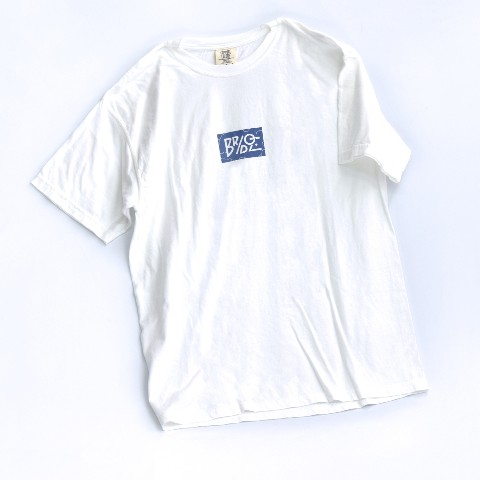 【BRIDGE SHIP HOUSE×VV】Tシャツ(White) Lサイズ