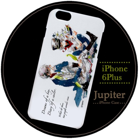 【Jupiter】【iPhone6Plusケース】航海士の日記