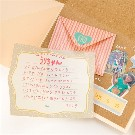 【SURPRISE FACTORY】MINI LETTER SET(PASTEL)