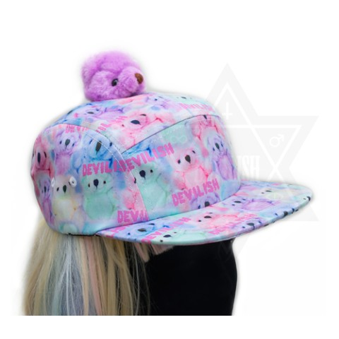 【Devilish】Pastel bear hat