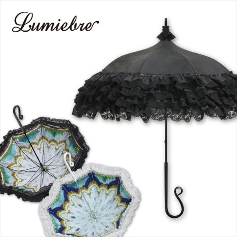 【Lumiebre】merletto rose(black)