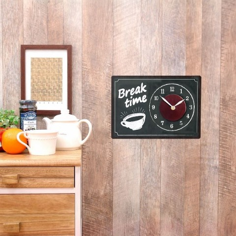 【WALL CLOCK STICKER】CAFE SHACK BOARD1
