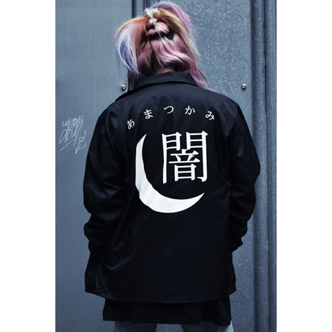 【アマツカミ】 闇/Dark Coach Jacket S