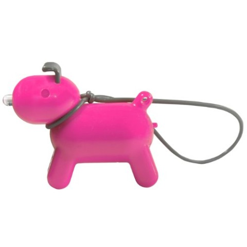 【鍵探しキーホルダー】Doggy Keyfinder(Purple)