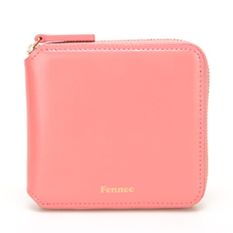 Fennec Zipper Wallet Coral