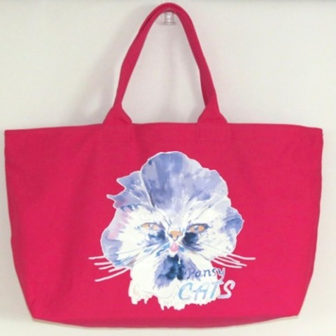 【kanvas】PANSYCATS WEEKEND TOTE PINK
