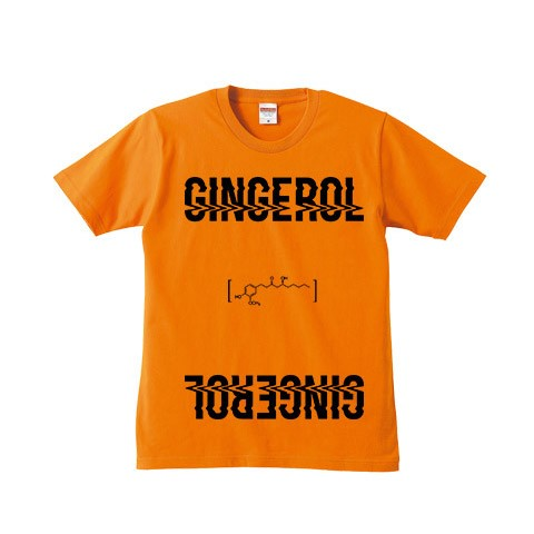 【a crowd of rebellion】 Gingerol 限定Tシャツ ORANGE M