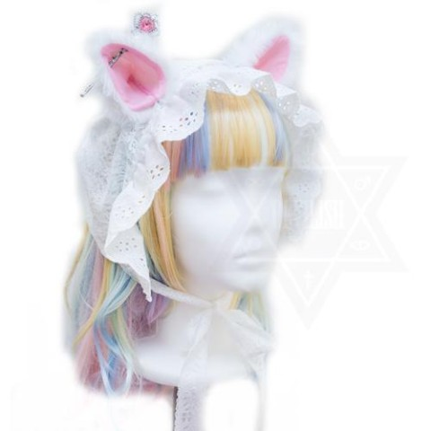 【Devilish】Princess kitten bonnet
