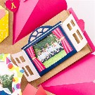 【SURPRISE FACTORY】WINDOW PHOTO FRAME(POP)