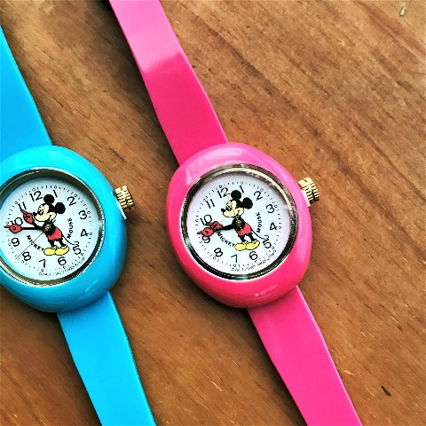 Disney Watchピンク