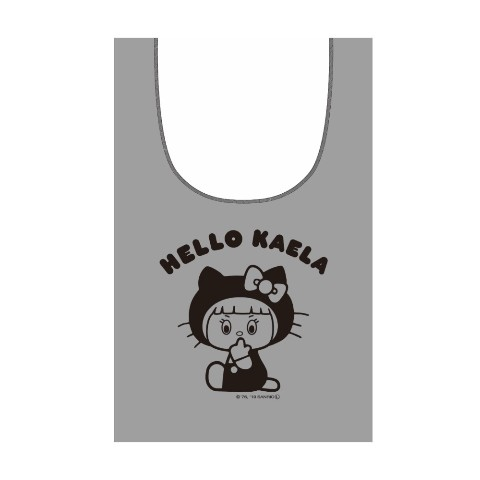 【KAELA×HELLO KITTY】HELLO KAELA マルシェバック