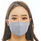 【LOOKA】Refreshing Mask (LIGHT GRAY) S
