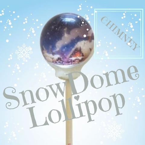 SnowDome Lollipop chimney / Blackberry