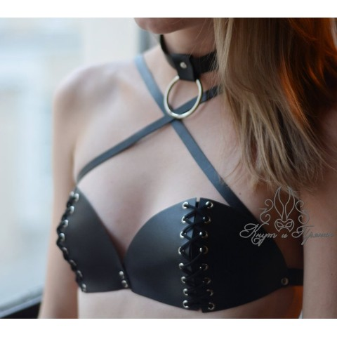 【Whip And Cake】天使もえ Bralette with lacing 【M】