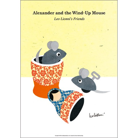 【レオ・レオニ】 Alexander and the Wind-Up Mouse(B4ポスター)