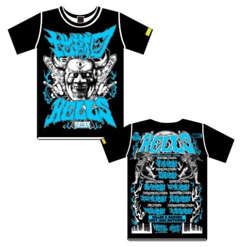 "『TOO YOUNG TO DIE!若くして死ぬ』劇中ロックバンド""地獄図(ヘルズ)""Tシャツ"