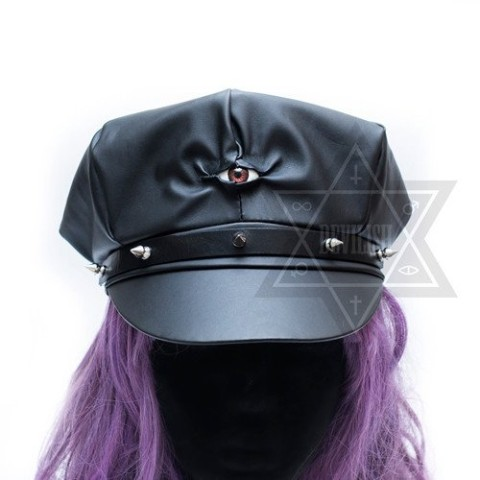 【Devilish】Spiky eyed hat<ダークアイ帽>
