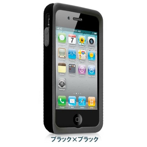 Case Mate iPhone 4S / 4用CASE TOUGH Black
