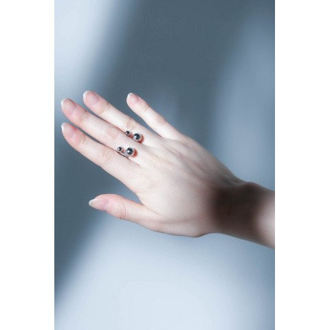 【unclod】FINGER PIERCE RING  [ SILVER 11号 ]