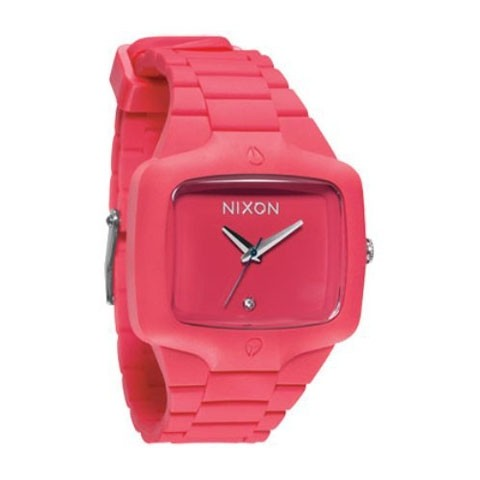 【NIXON】RUBBER PLAYER 【CORAL】