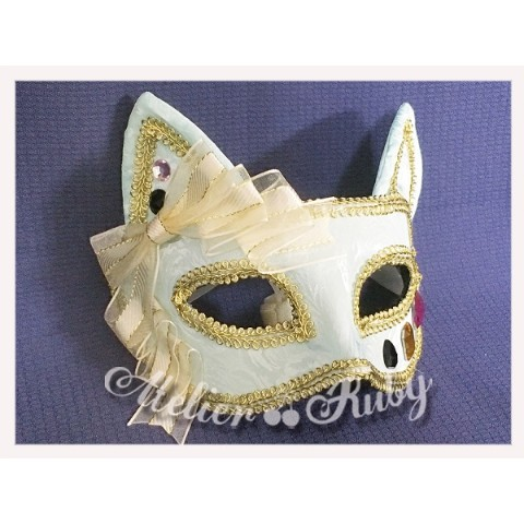 【Atelier Ruby】Mask Headdress-Cat/Mint