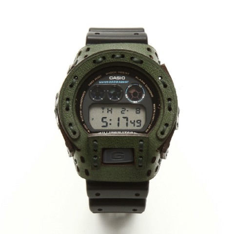 【armadillo】レザーカスタムケース for G-SHOCK【arm-001-GREEN】