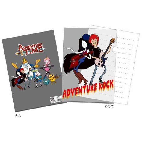 【AT×NAMBA】A4クリアファイル/ADVENTURE ROCK