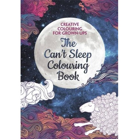 【塗り絵・洋書】The Can't Sleep Colouring Book/LBS