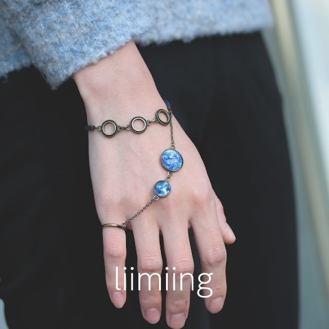 【liimiing】Earth & MOON Amulet Women's