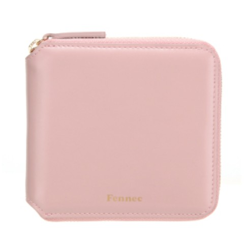 Fennec Zipper Wallet Light Pink