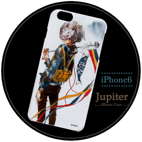 【Jupiter】【iPhone6ケース】鯉