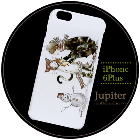 【Jupiter】【iPhone6Plusケース】雪の朝