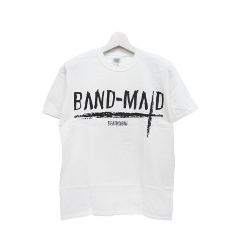 BAND-MAID deathsight Tシャツ 白 M