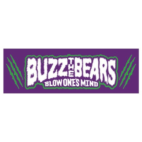 【 BUZZ THE BEARS】RUDIE'S × BUZZ THE BEARS TOWEL(パープル)