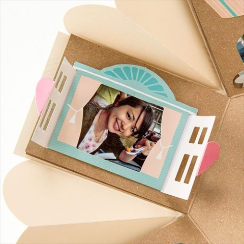 【SURPRISE FACTORY】WINDOW PHOTO FRAME(PASTEL)