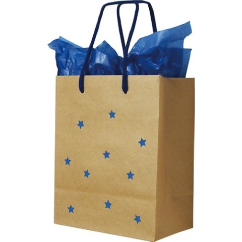 Paper Bag Star Kraft