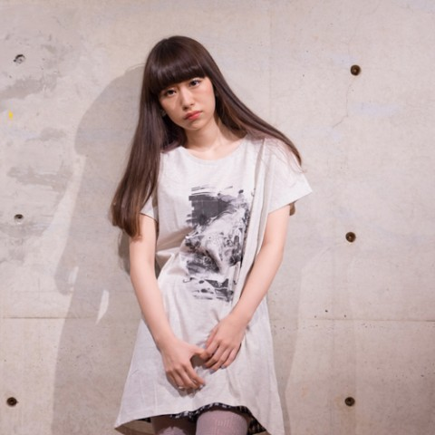 【sacabbage】Mono/mono one piece T-shirts (オートミール)