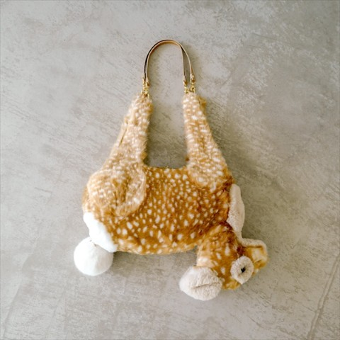 【verthandi】Ecofur DEER BAG - Large size