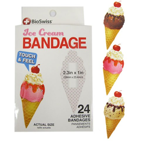 【BANDAGE】 ICE CREAM