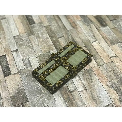 【畳deCo物】iphone plus case 黒金亀